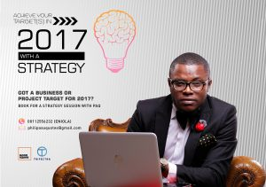 Want to Achieve your Targets for 2017? Book for a Strategy Session with PAQ